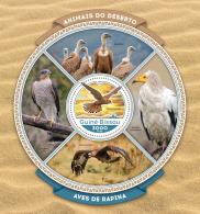 GUINEA BISSAU 2016 ** Birds Of Prey Raubvögel Greifvögel Rapaces S/S - IMPERFORATED - A1642