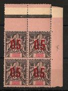 Grande Comore N°Yv. 24A Dans Bloc De 4 - Chiffres Espacés - Neuf ** - MNH - Postfrisch - Cote 19,1 EUR