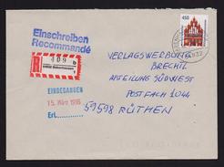 BRD - R-Brief, Einschreiben Mit EF MiNr. 1623 O / Used, 64832 BABENHAUSEN 1