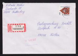 BRD - R-Brief, Einschreiben Mit EF MiNr. 1623 O / Used, 35088 BATTENBERG 1