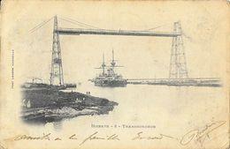 Bizerte - Le Transbordeur - Bateau De Guerre - Photo Lacour - Carte Précurseur N° 8 - Tunisie