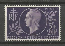MARTINIQUE  N° 198  NEUF* CHARNIERE  / MH