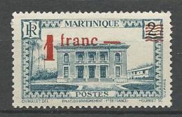 MARTINIQUE  N° 220   NEUF* CHARNIERE  / MH