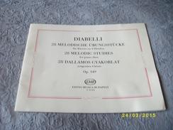 DIABELLI 28 Mélodies Pour Piano 4 Mains - Instruments à Cordes