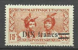 MARTINIQUE  N° 224  NEUF* CHARNIERE  / MH