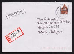 BRD - R-Brief, Einschreiben Mit EF MiNr. 1623 O / Used, 33142 BÜREN 1 (2)