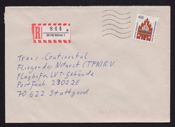BRD - R-Brief, Einschreiben Mit EF MiNr. 1623 O / Used, 33142 BÜREN 1 (3)