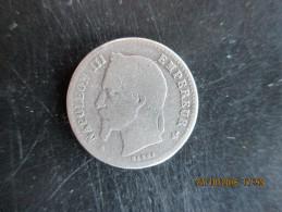 Napoléon III Tête Laurée, 50 Cent. 1868 BB, B - Frankreich