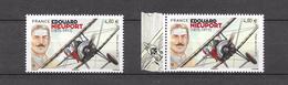 PA : Edouard Nieuport. 2 Timbres. (Voir Commentaires)