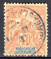 Madagascar  -  Yv. 37  -  Oblitéré