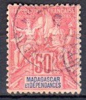 Madagascar  -  Yv. 38   -  Oblitéré