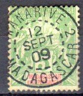 Madagascar  -  Yv. 42A   -  Oblitéré