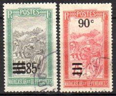 Madagascar -  Yv. 149/150   Obl.