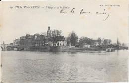 CHALON-s-SAONE : L'Hôpital Et La Genise - Chalon Sur Saone
