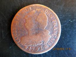 """6 Deniers 1792 BB, """"français"""", B+ - 1789-1795 Period: Revolution"""