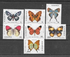 Angola 1981 Y&T Nr° 652/658+Bloc6 (**) - Angola