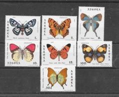 Angola 1981 Y&T Nr° 652/658+Bloc6 (**)