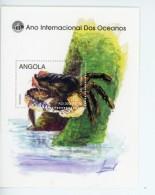 Angola-1998-Crabe-Année Internationale Des Océans-YT B45***MNH