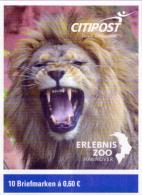 Deutschland CitiPost MH ´Erlebnis-Zoo, Löwen´ / Germany Booklet ´Hanover Zoo, Lions´ **/MNH 2016