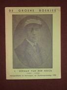 Herman Van Den Reeck °1901 - +1920 Neergeschoten Te Antwerpen Op Guldensporendag 1920