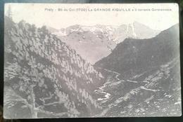 PRALI - LA GRANDE AIGUILLE E IL TORRENTE GERMANASCA   (875) - Italia