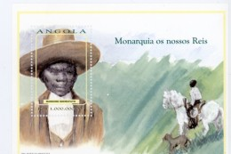 Angola-1999-Rois-Mundume Ndemufayo-YT B58***MNH***MNH