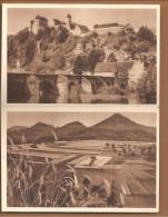P254 Bild 120 + 121.W.H.W. Lotterie 1934/35. Harburg + Annweiler
