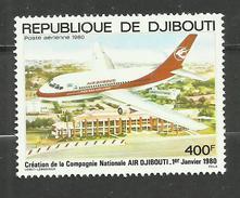 Djibouti POSTE AERIENNE N°140 Neuf** Cote 8.75 Euros