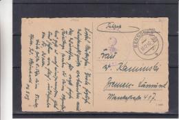 Allemagne - Empire - Carte Postale Militaire De 1940 - Feldpost - Oblitération Sensburg - Avec Censure