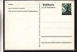 Allemagne - Empire - Entier Postal De 1939 - Croix Gammée - Hitler