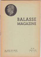 BALASSE MAGAZINE  NUMERO 28    Janvier  1943  (voir Aussi Rubrique Livres D Autres N° Plus Anciens ) - Belgique