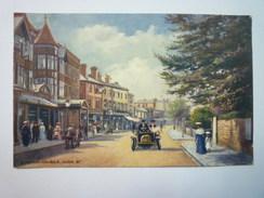BOGNOR-on-SEA  :  HIGH  STREET  -  Oilette Couleur  1906  XXX - Bognor Regis