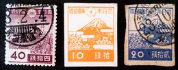 EMISSIONS 1942/46 - NEUF */OBLITERES - YT 335 + 346 + 346B - 1926-89 Empereur Hirohito (Ere Showa)