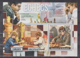 B13 Burundi - MNH - Games - Chess - 2012