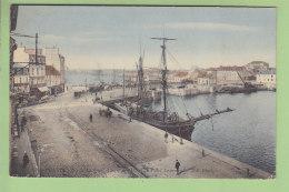 CHERBOURG : Le Quais Alexandre III Et Le Pont Tournant. Voilier. 2 Scans. Edition ND - Cherbourg