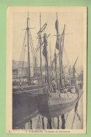 CHERBOURG : Le Bassin Du Commerce. Voiliers. 2 Scans. Edition Verschuere - Cherbourg