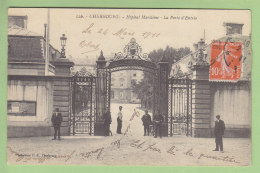 CHERBOURG : Hôpital Maritime , La Porte D'Entrée. 2 Scans. Edition P B - Cherbourg