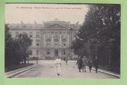 CHERBOURG : Hôpital Maritime , Vue Prise De L'Avenue Principale. 2 Scans. Edition Le Goubey - Cherbourg