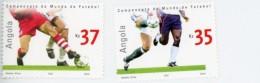 Angola 2002-Coupe De Football En Corée Du Sud-YT 1521/22+B100***MNH
