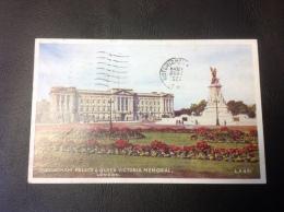 431 - BUCKINGHAM PLACE & QUEEN VICTORIA MEMORIAL London - 1952