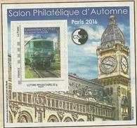 Bloc CNEP Adhésif N°73 Salon Du Timbre AUTOMNE Paris 2016