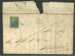 DA PRATO A FERRARA - 29.10.1858 - P.5 + P.5.
