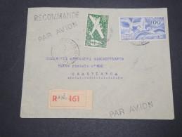 FRANCE /A.O.F. - Enveloppe En Recommandé De Dakar Pour Casablanca Par Avion ,affranchissement Plaisant - A Voir - L 4904