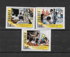 Angola 1986 Y&T Nr° 732/734 (**)