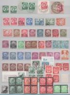 ALLEMAGNE LOT TIMBRES Oblitérés Années 1932 à 1934 COTE 120 EUROS Environ