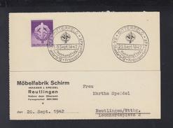 Dt. Reich PK 1942 Bitterfeld SA Standarte 12 Wehrkampftag - Briefe U. Dokumente