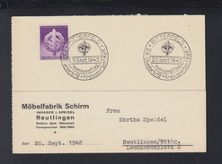 Dt. Reich PK 1942 Bitterfeld SA Standarte 12 Wehrkampftag - Germania