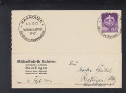 Dt. Reich PK 1942 Hannover SA-Gruppe Niedersachsen Wehrkamptage - Briefe U. Dokumente