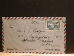 61/939  LETTRE  CANADA POUR  USA  1957
