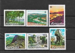 Angola 1987 Y&T Nr° 740/745 (**) - Angola